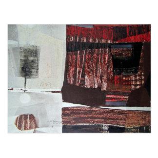 Paisaje abstracto de Potosi Bolivia 30.3x22.3 Postales