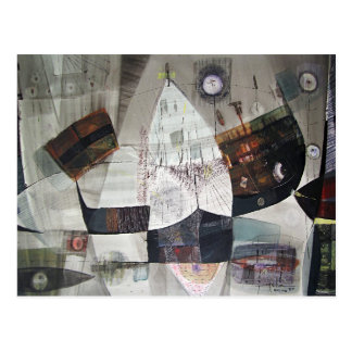 Paisaje abstracto de Potosi Bolivia 30.6x22 Tarjetas Postales
