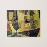 Paisaje abstracto de Potosi Bolivia 30x22.6 Puzzles