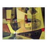 Paisaje abstracto de Potosi Bolivia 30x22.6 Tarjeta Postal