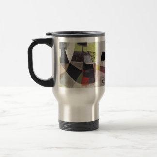 Paisaje abstracto de Potosi Bolivia 32.3x21.6 Taza De Café