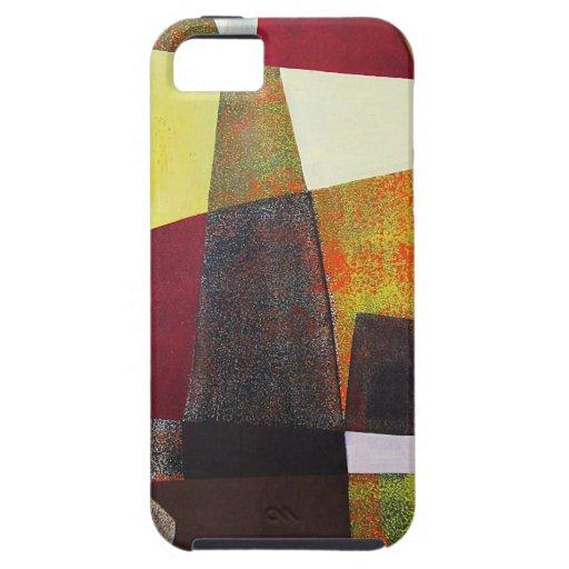 Paisaje abstracto de Potosi Bolivia 33x22.6 iPhone 5 Case-Mate Cobertura