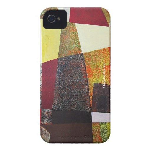 Paisaje abstracto de Potosi Bolivia 33x22.6 iPhone 4 Cobertura