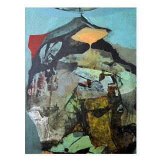 Paisaje abstracto de Potosi Bolivia Postales
