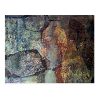 Paisaje abstracto de Potosi Bolivia Tarjetas Postales