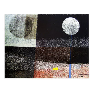 Paisaje abstracto Potosi 21.75x16.5 Postal