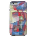 Paisaje abstracto Potosi 23.75x18.25 Funda De iPhone 6 Tough