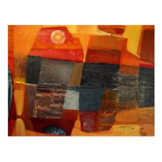 Paisaje abstracto Potosi 23x17 Postales
