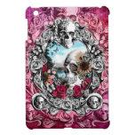 Paisaje adornado rosado del cráneo