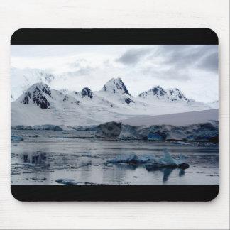 Paisaje antártico tapetes de ratones