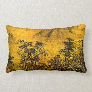 Paisaje antiguo almohadas