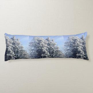 Paisaje austríaco del invierno cojin cama