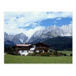 Paisaje austríaco tarjetas postales