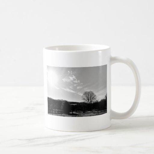 Paisaje bonito taza