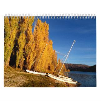 Paisaje Calendario De Pared