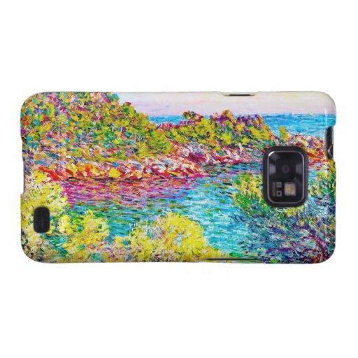 Paisaje cerca de Monte Carlo, Claude Monet 1883 Samsung Galaxy S2 Carcasa