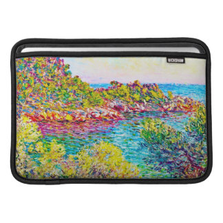 Paisaje cerca de Monte Carlo Claude Monet 1883 Fundas MacBook