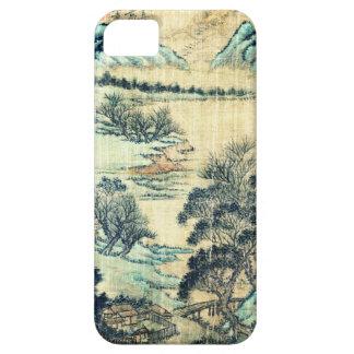 Paisaje chino 1730 iPhone 5 carcasa