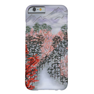 paisaje chino funda para iPhone 6 barely there