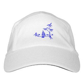 Paisaje chino gorra de alto rendimiento