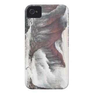 Paisaje chino --- Montañas del otoño --- iPhone 4 Carcasas
