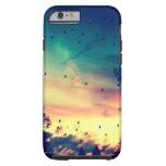 Paisaje colorido de la naturaleza del cielo de los funda de iPhone 6 tough
