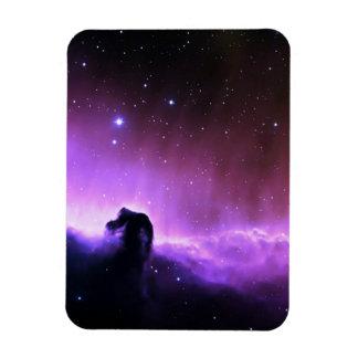Paisaje colorido del cielo nocturno de la nebulosa iman flexible