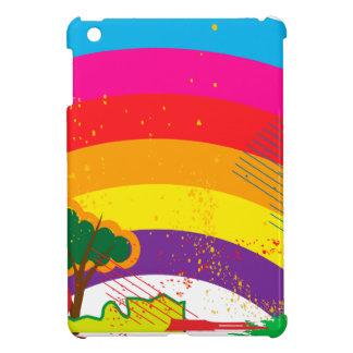 Paisaje colorido vivo del arco iris