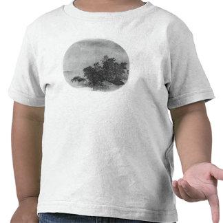 Paisaje con el búfalo de agua, dinastía de canción camisetas