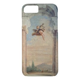 """Paisaje con el Cupid, del """"Foresteria"""" (huésped Funda iPhone 7"""