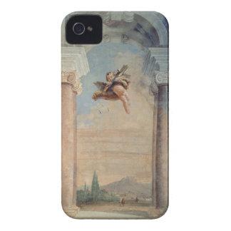 """Paisaje con el Cupid, del """"Foresteria"""" (huésped Funda Para iPhone 4"""