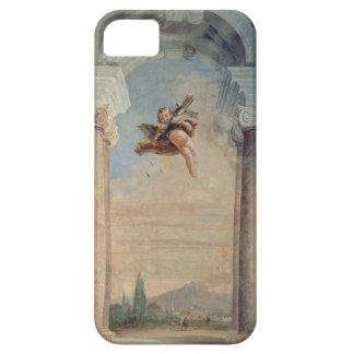 """Paisaje con el Cupid, del """"Foresteria"""" (huésped Funda Para iPhone SE/5/5s"""
