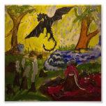 Paisaje con el dragón de Genevieve y de Juan Arte Con Fotos