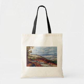 Paisaje con el molino de viento por Bruegel D. Ä.  Bolsa