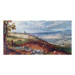 Paisaje con el molino de viento por Bruegel D. Ä.  Tarjetas Fotograficas