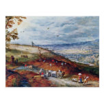 Paisaje con el molino de viento por Bruegel D. Ä.  Postales