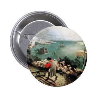 Paisaje con la caída de Ícaro - 1558 Pin