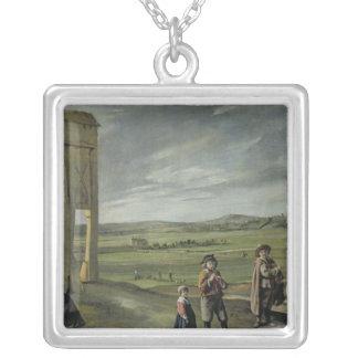 Paisaje con los campesinos, c.1640 joyerías