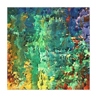 Paisaje contemporáneo por el rafi talby impresión en lienzo