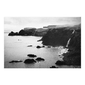 Paisaje costero de Azores Arte Fotográfico