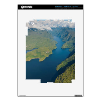 Paisaje costero en selva tropical de la Osa Mayor iPad 3 Skins