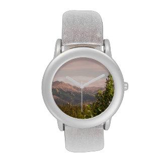 Paisaje de Alaska Reloj De Mano