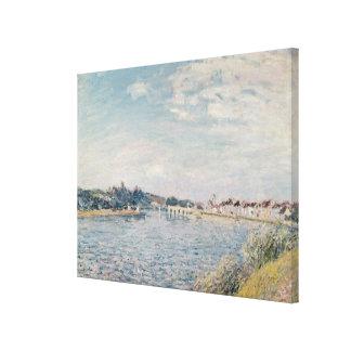 Paisaje de Alfred Sisley el |, 1888 Impresiones En Lona Estiradas