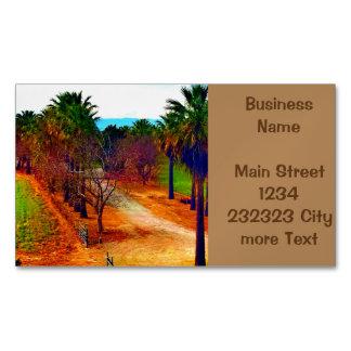 Paisaje de California Tarjetas De Visita Magnéticas (paquete De 25)