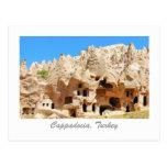 Paisaje de Cappadocia Tarjeta Postal