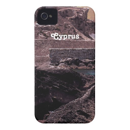 Paisaje de Chipre iPhone 4 Carcasa