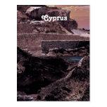 Paisaje de Chipre Postal