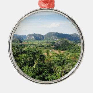 Paisaje de Cuba Ornamento Para Arbol De Navidad