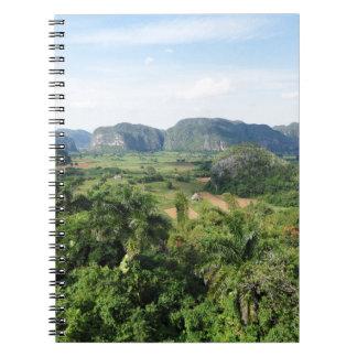 Paisaje de Cuba Cuaderno