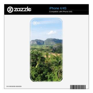 Paisaje de Cuba Calcomanía Para El iPhone 4S